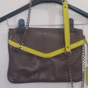 Cynthia Rowley detachable chain handbag